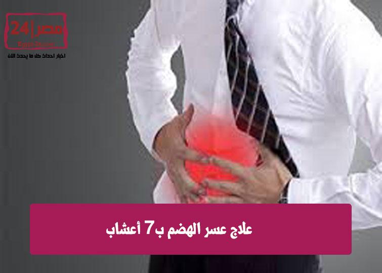 علاج عسر الهضم ب6 أعشاب 1