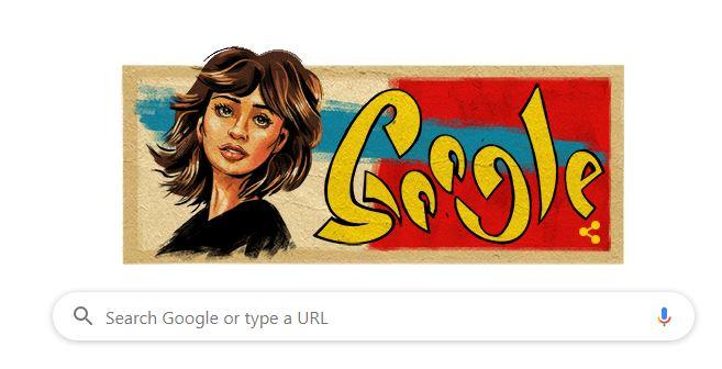 جوجل يحتفل بميلاد الفنانة مديحة كامل