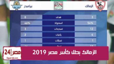 الزمالك بطل كأس مصر 2019